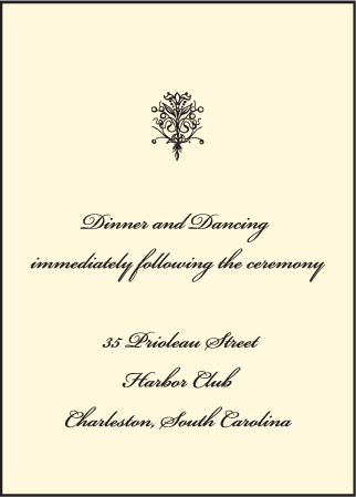 Viennese Waltz Letterpress Reception Design Medium