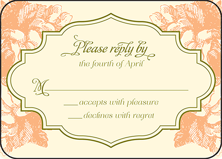 Vintage Apothecary Letterpress Reply Design Medium