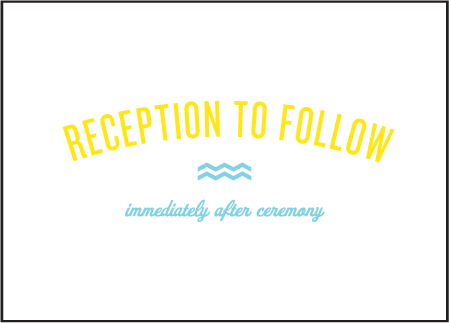 Vintage Beach Letterpress Reception Design Medium