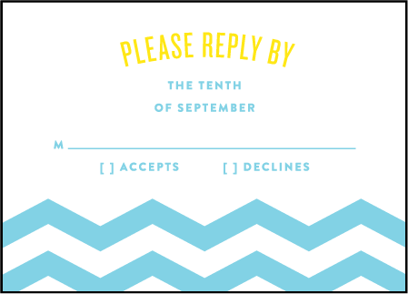 Vintage Beach Letterpress Reply Design Medium