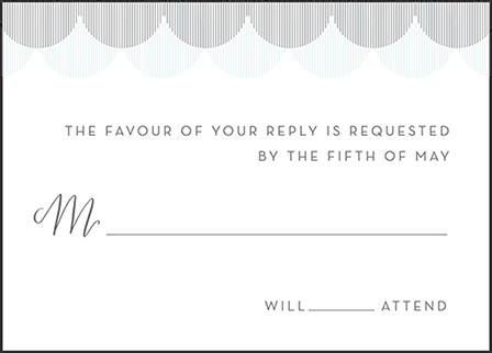 Wave Letterpress Reply Design Medium