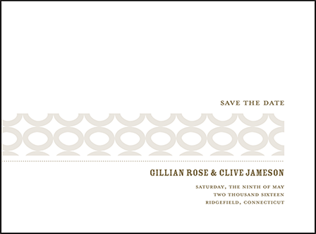 Wicklow Letterpress Save The Date Design Medium