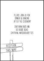 Allegory Modern Letterpress Reception Design Small