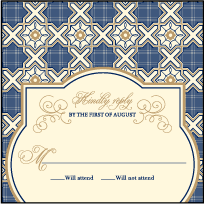 Amadore Antique Letterpress Reply Design Small