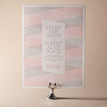 Anais Letterpress Invitation Design Small