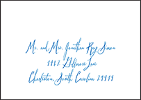 Anderson Letterpress Reply Envelope Design Small