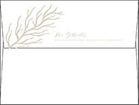 Breakers Letterpress Envelope Design Small