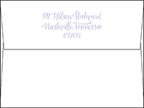 Browning Letterpress Envelope Design Small