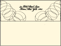 Canto Letterpress Envelope Design Small