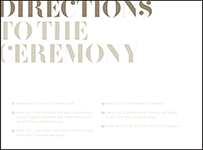 Carly Letterpress Direction Design Small