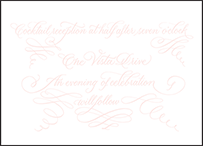 Carolina Letterpress Reception Design Small