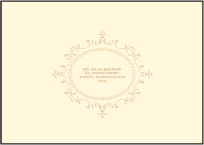 Cartoccio Letterpress Reply Envelope Design Small