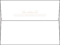 Charlotte Letterpress Envelope Design Small