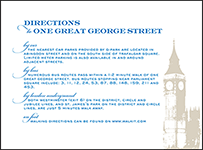 Charmed London Letterpress Direction Design Small