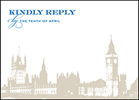 Charmed London Letterpress Reply Design Small