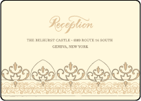 Claddagh Letterpress Reception Design Small