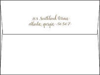 Colette Letterpress Envelope Design Small