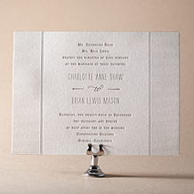 Collection Letterpress Invitation Design Small