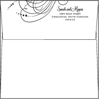 Evelyn Letterpress Envelope Design Small
