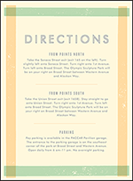 Farmstand Letterpress Direction Design Small
