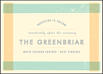 Farmstand Letterpress Reception Design Small