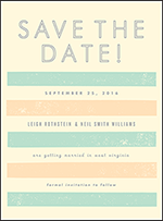 Farmstand Letterpress Save The Date Design Small