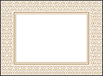 Fitzgerald Letterpress Placecard Flat Design Small