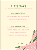 Flit Letterpress Direction Design Small