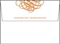 Greenwich Letterpress Envelope Design Small