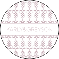 Greyson Letterpress Coaster Design Small
