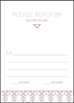 Greyson Letterpress Reply Design Small