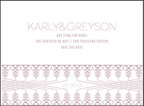 Greyson Letterpress Save The Date Design Small