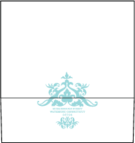 Jolie Letterpress Envelope Design Small