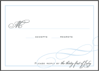 Keswick Letterpress Reply Design Small