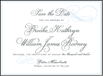 Keswick Letterpress Save The Date Design Small