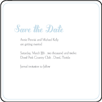 Linden Summer Letterpress Save The Date Design Small