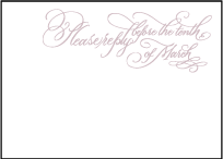 Magnolia Letterpress Reply Design Small