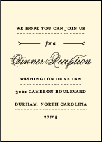 Measurement Letterpress Reception Design Small