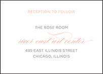 Modern Basel Letterpress Reception Design Small
