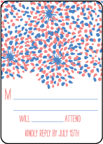 Modern Fete Letterpress Reply Design Small