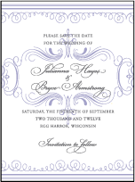 Nantucket Letterpress Save The Date Design Small