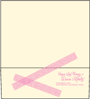 New Washi Letterpress Envelope Design Small