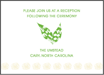 Organic Letterpress Reception Design Small