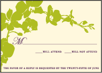 Paradise Letterpress Reply Design Small