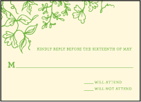 Pastoral Letterpress Reply Design Small