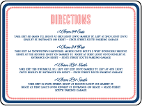 Popular Country Letterpress Direction Design Small