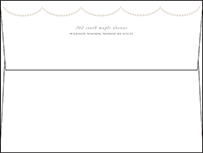 Royal Valance Letterpress Envelope Design Small
