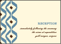 Santa Fe Letterpress Reception Design Small