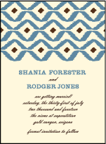 Santa Fe Letterpress Save The Date Design Small