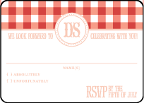 Savannah Letterpress Reply Design Small